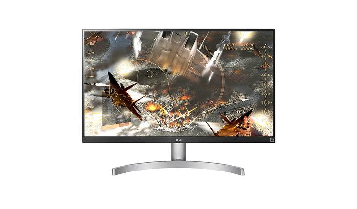 Монитор LCD 27'' 16:9 3840x2160 IPS 27UK600-W, фото 2