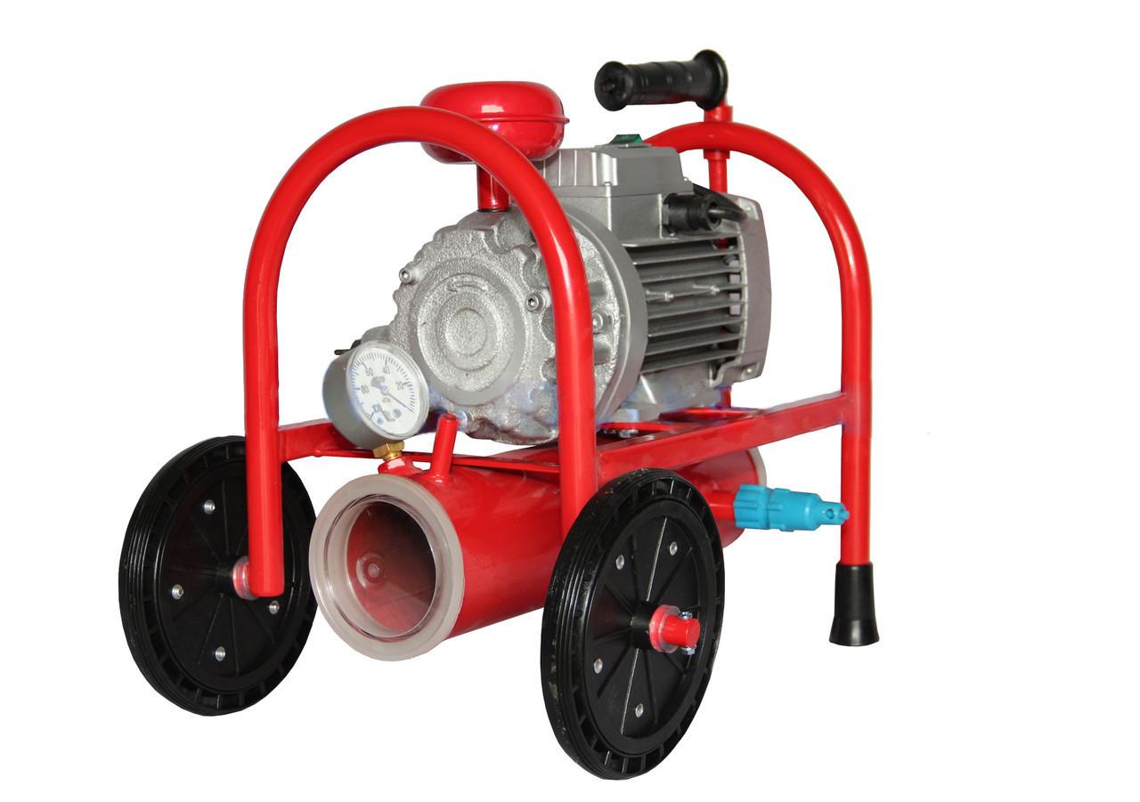 Насос вакуумный роторный  НВР-220 для доильных аппаратов с ресивером