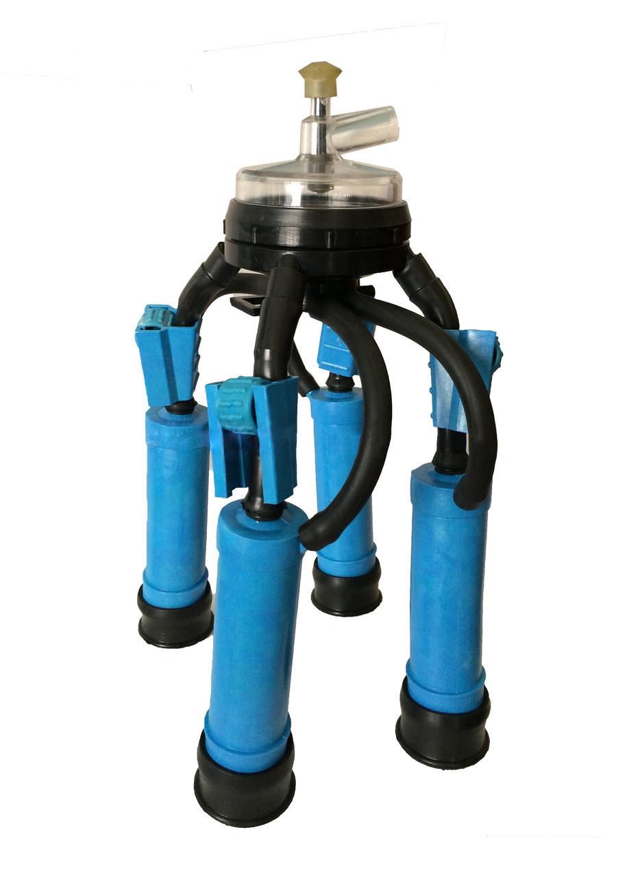 Доильная аппаратура Стандарт с полипропиленовымы стаканами