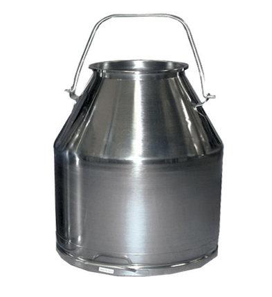 Доильное ведро нержавеющее 20 литров, фото 2