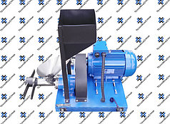 Экструдер зерновой для кормов шнековый ЭГК30кг/час