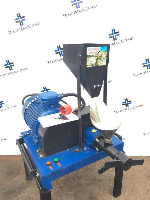 Экструдер зерновой для кормов шнековый ЭГК50кг/час