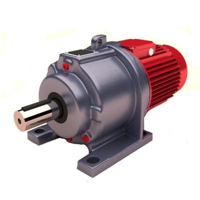 Редуктор 3МП-40 3 ступенчатый для двигателя 80 габарита. Исполнение лапы