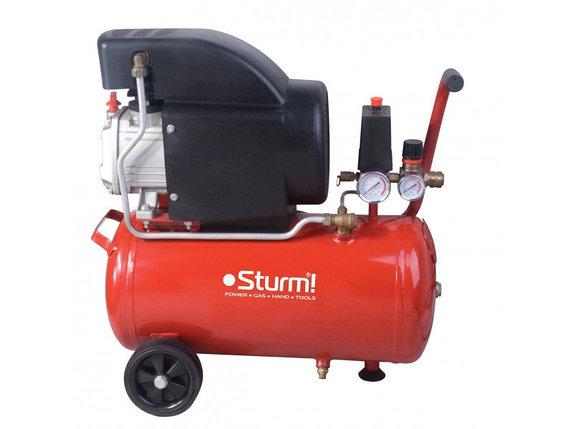 Воздушный компрессор Sturm 1600 Вт, 50 л AC93166, фото 2