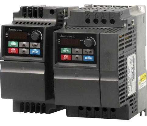 Преобразователь частоты 0.4kW 220V VFD004EL21A