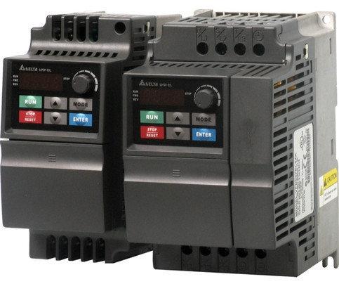 Преобразователь частоты 0.4kW 220V VFD004EL21A, фото 2