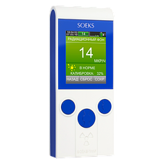 Индикатор радиоактивности (дозиметр) Соэкс-01М Prime