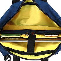 """Сумка-рюкзак для ноутбука 15,6"""" KING-LONG (KLM1340R BL), фото 2"""
