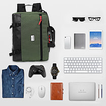 """Сумка-рюкзак для ноутбука 15,6"""" KING-LONG (KLM1340R), фото 3"""