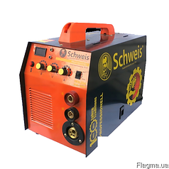 Сварочный инверторный полуавтомат Schweis MIG 300 2 в 1