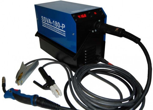 Аппарат аргоннодуговой сварки SSVA-180-P TIG (с осциллятором), без рукава