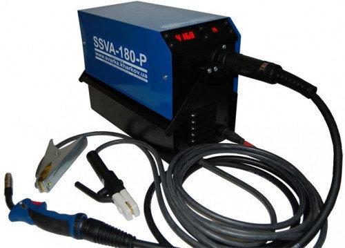 Аппарат аргоннодуговой сварки SSVA-180-P TIG (с осциллятором), без рукава, фото 2