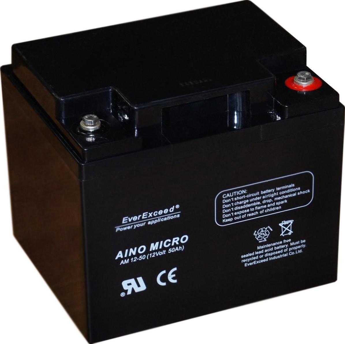 Аккумулятор EverExceed Aino Micro AM 12-50