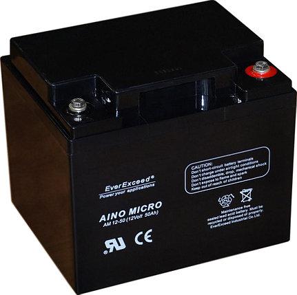 Аккумулятор EverExceed Aino Micro AM 12-50, фото 2