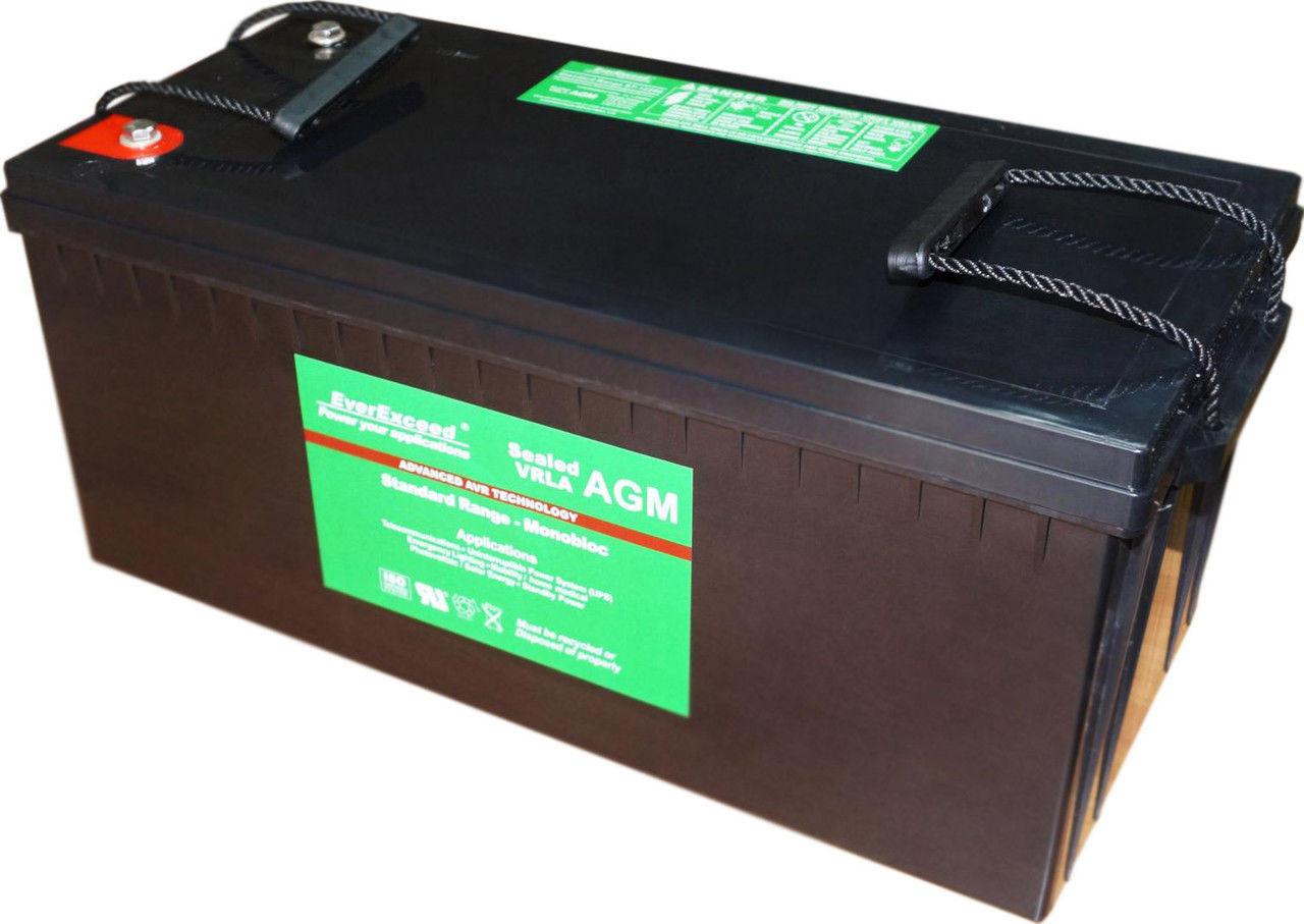 Аккумулятор EverExceed ST-12200 (12В, 200Ач)
