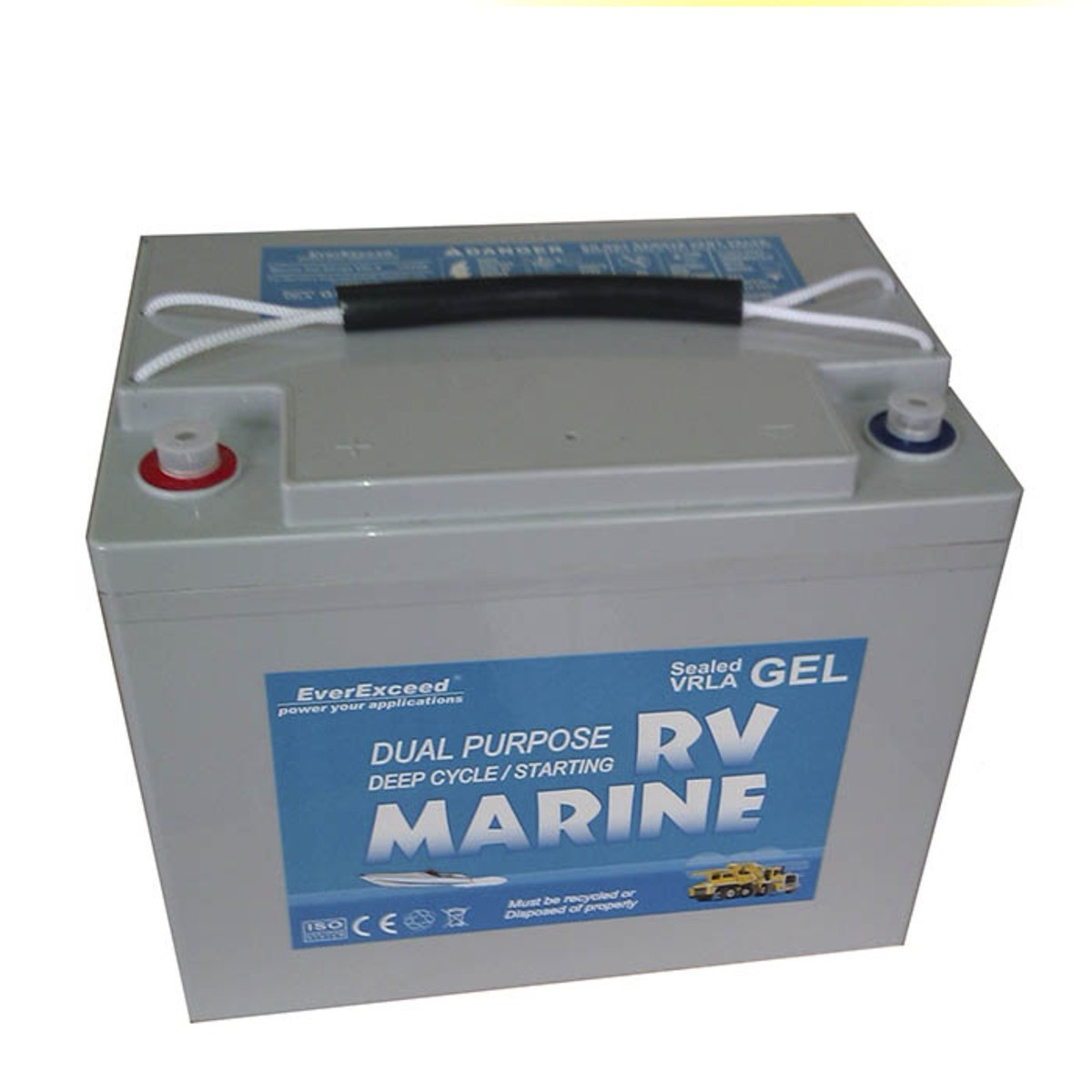 Гелевый аккумулятор EverExceed 8G24M (12V80Ah)
