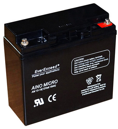 Аккумулятор EverExceed Aino Micro AM 12-15, фото 2