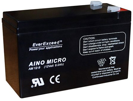 Аккумулятор EverExceed Aino Micro AM 12-9.(12V-9Ah), фото 2