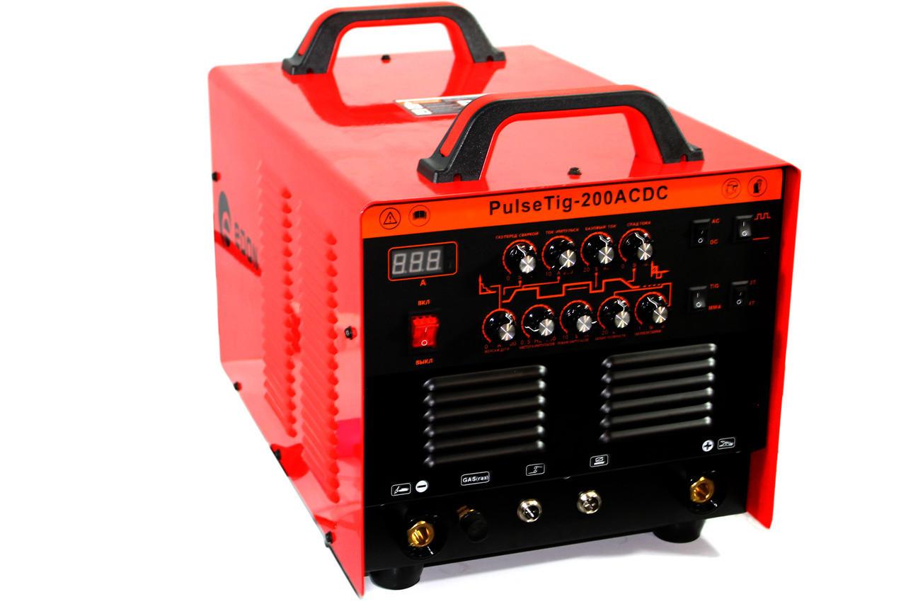 Аппарат аргоннодуговой сварки Edon Pulse TIG 200 ACDC