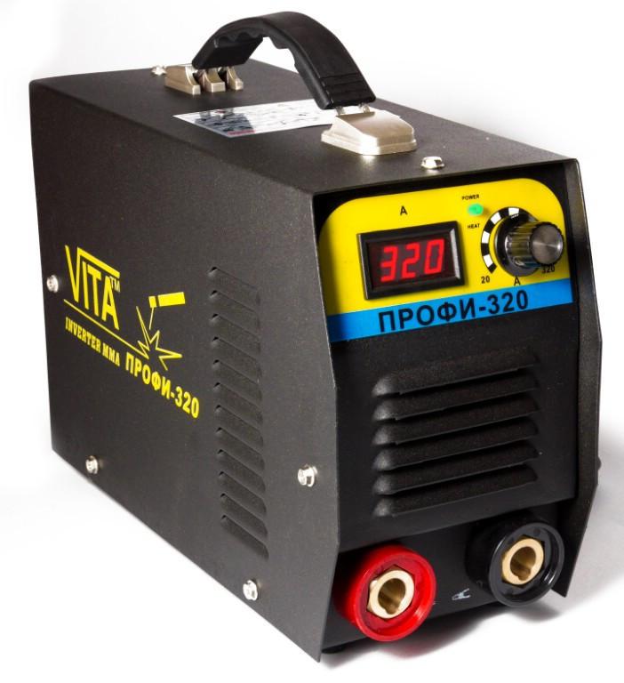 Сварочный инверторный аппарат ММА-320ПРОФИ VITA в металлическом кейсе GOLD (SI-0002)