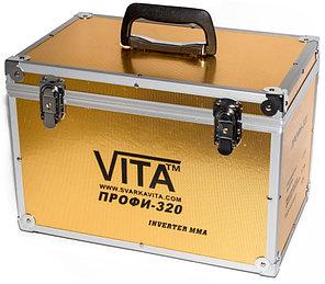 Сварочный инверторный аппарат ММА-320ПРОФИ VITA в металлическом кейсе GOLD (SI-0002), фото 2