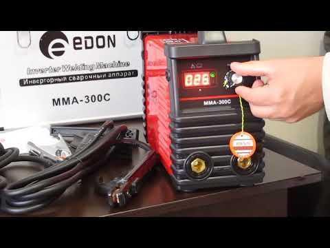 Сварочный инверторный аппарат EDON MMA-300C