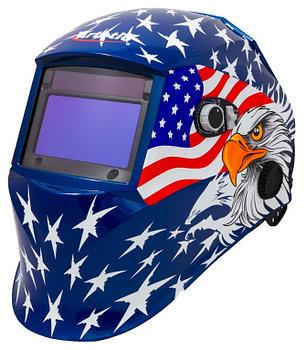 Маска сварщика ARTOTIC SUN7 Американский флаг (WH-0010), фото 2