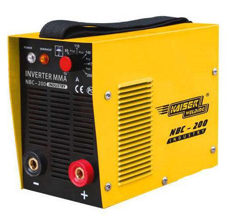 Инвертор Kaiser NBC-200 NBC-200 industry, 220 В, 20-200 А,  1,6-5,0 мм,  6,5 кг,  чем, фото 2