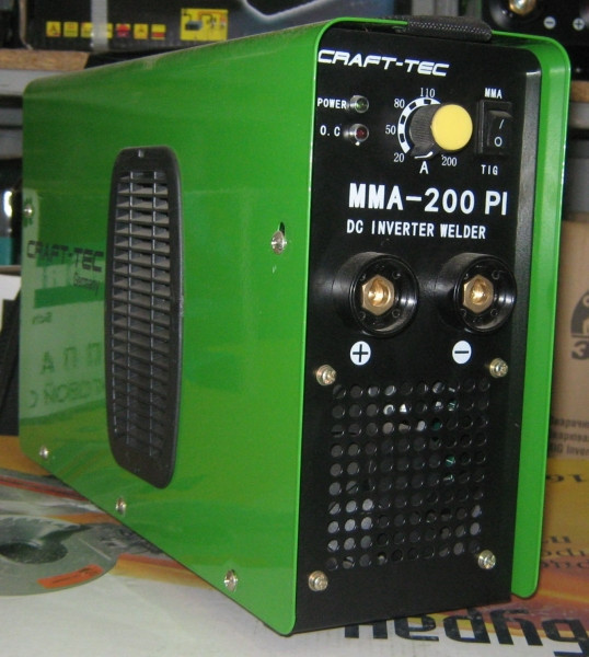 Сварочный инвертор Craft-Tec MMA-200PI