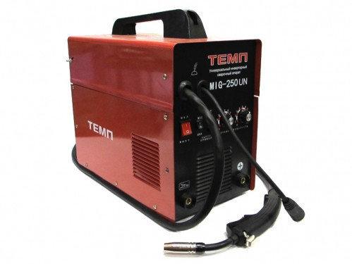 Сварочный инверторный полуавтомат Темп MIG-250UN (проволока+электрод), фото 2