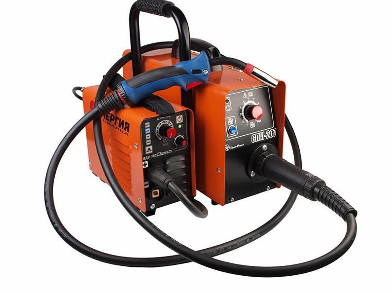 Сварочный инвертор ВДС-180 с подающим механизмом СПМ-207