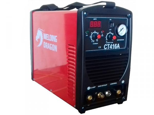 Аппарат для плазменной резки металла + аргон + сварка «3 в 1» Welding Dragon CT416A