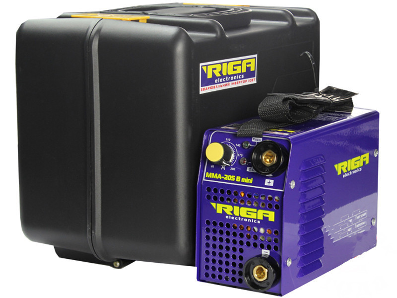 Сварочный инвертор RIGA ММА (IGBT) MINI 205 B (кейс) (70974006)