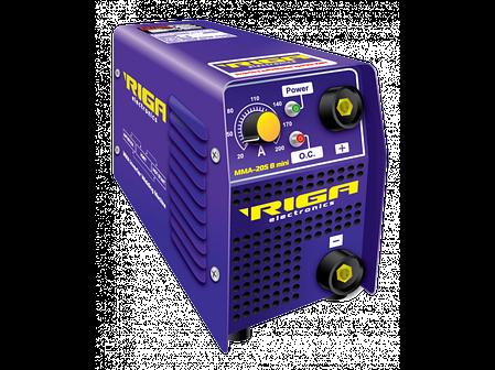 Сварочный инвертор RIGA ММА (IGBT) MINI 205 B (кейс) (70974006), фото 2