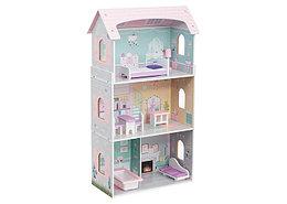 Кукольный дом с мебелью Edufun  EF4121 (8 предметов)