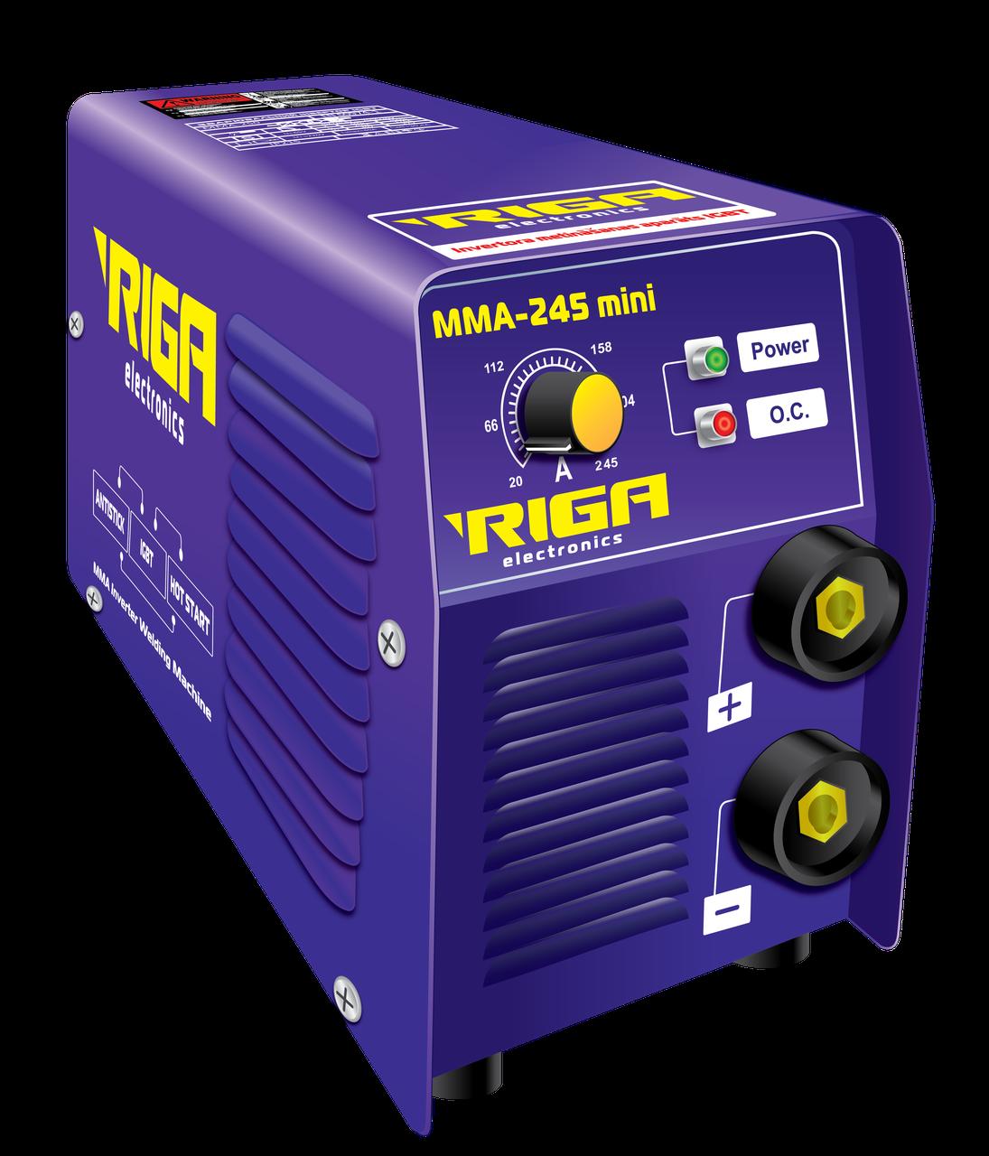 Сварочный инвертор RIGA ММА IGBT MINI 255 (70974007)