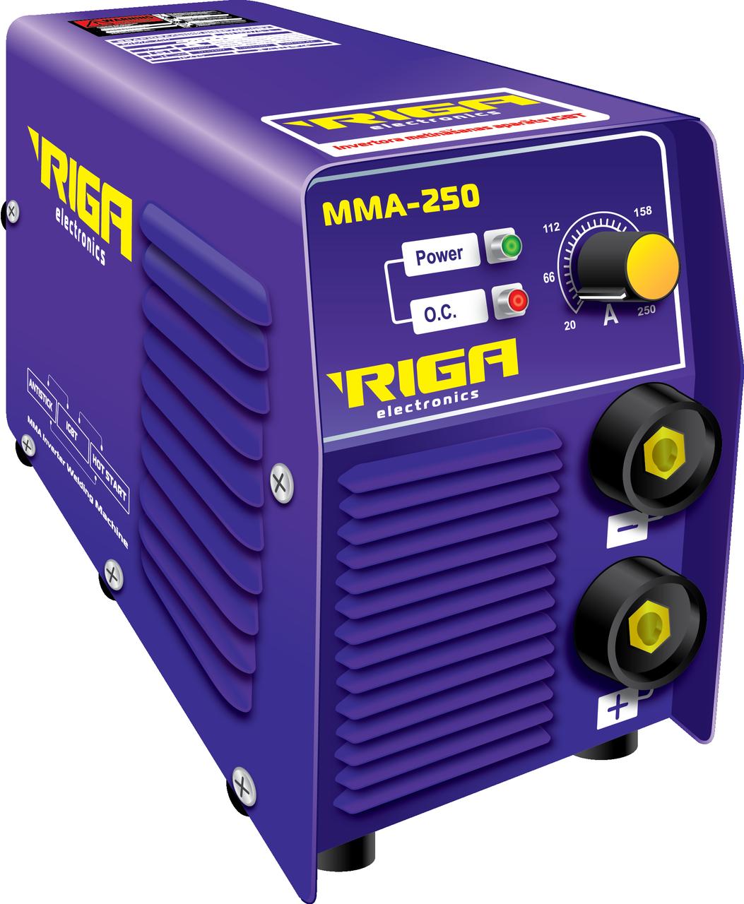 Сварочный инвертор RIGA mini ММА 250 (70974002)
