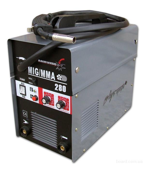 Сварочный инверторный полуавтомат Луч Профи MIG 280