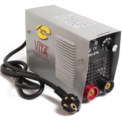 Сварочный инверторный аппарат MMA-270 mini VITA в металлическом кейсе (SI-0000 )