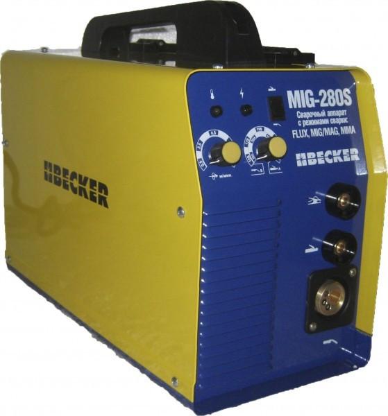 Сварочный инверторный полуавтомат Becker MIG 310S(+MMA)