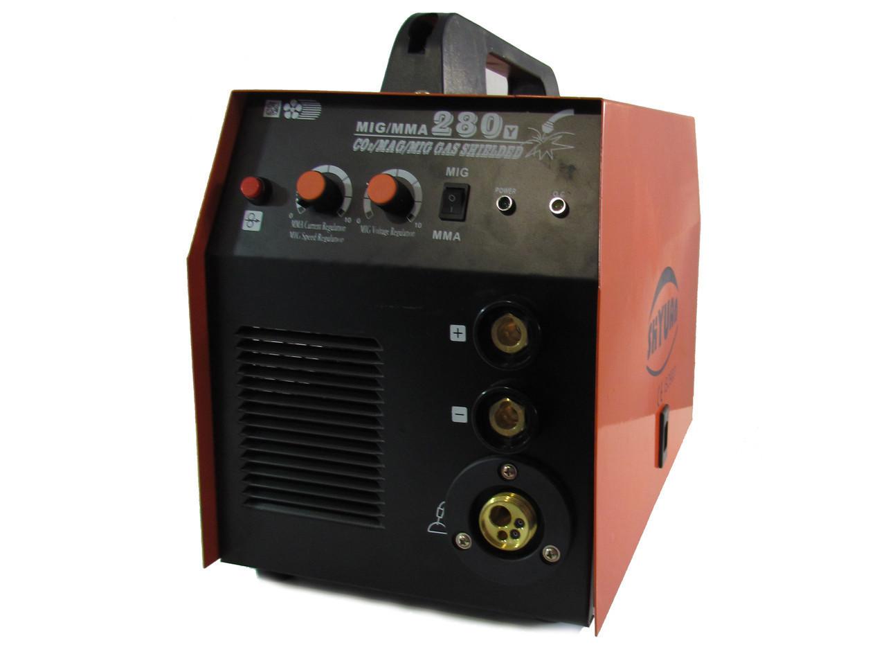 Инвертор Сварочный  SHYAN MIG 280 (п/авт+ д.сварка)