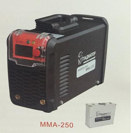 Сварочный инвертор Гладиатор 250 Алюминиевый кейс, фото 2