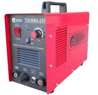 Сварочный инвертор EDON EXPERTTIG-250 для аргонодуговой сварки, фото 2