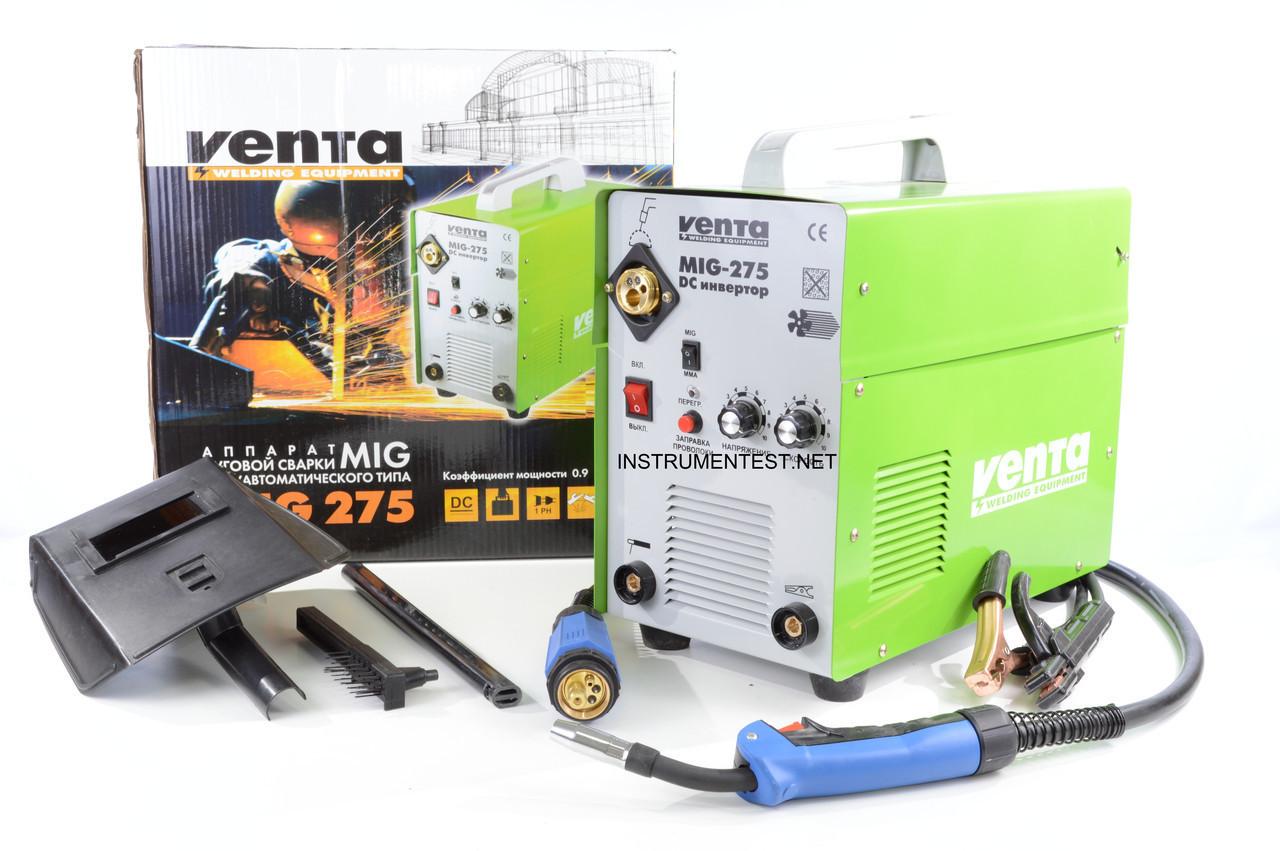 Сварочный инверторный полуавтомат Venta MIG 275