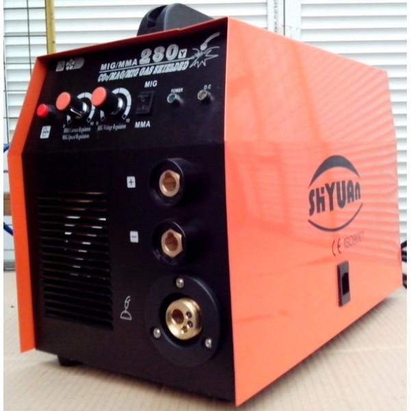 Сварочный инверторный полуавтомат  SHYUAN  260 ММА+MIG