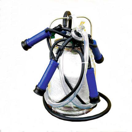 Майга алюминиевое ведро 20 л. с полипропиленовой доильной аппаратурой, фото 2