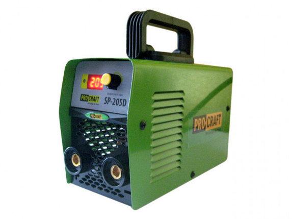 Сварочный инвертор PROCRAFT SP-250D мини, фото 2
