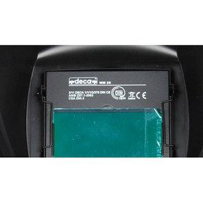 Сварочная маска хамелеон DECA WM 25 LCD, фото 2