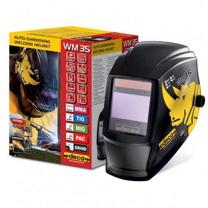 Сварочная маска хамелеон Deca WM 35 LCD, фото 2