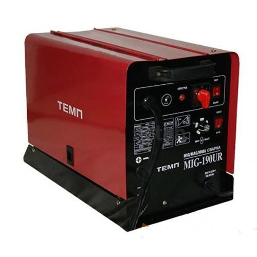 Сварочный инверторный полуавтомат Темп MIG-190UR (проволока+электрод)